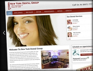 The Launch of New York Dental Group's New Website